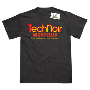 Image is loading Tech-Noir-Nightclub-Inspired-by-Terminator-Printed-T- d8c20bfad