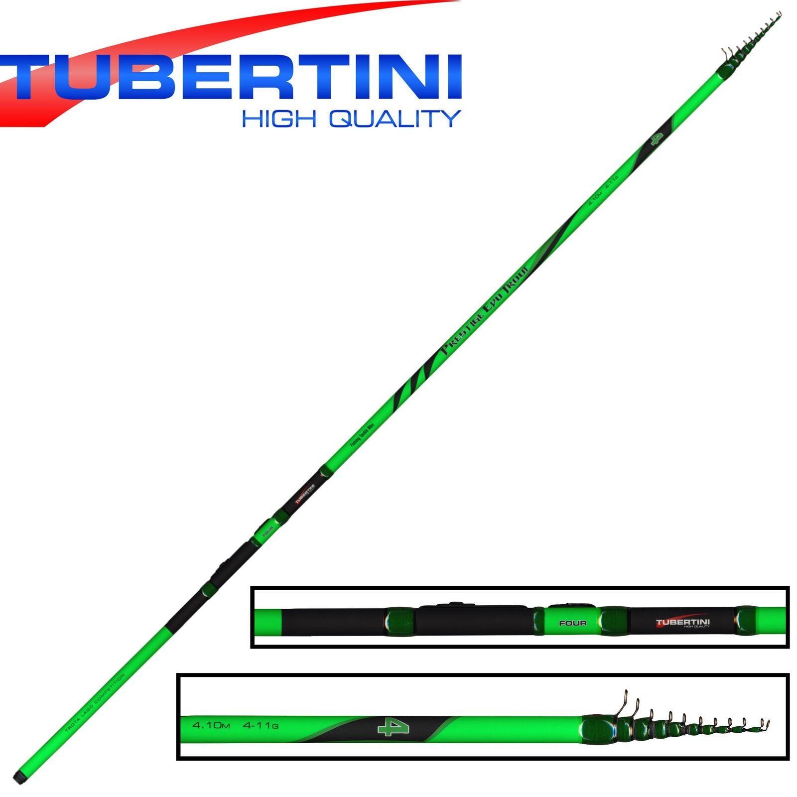 Tubertini Prestige Evo Trout 4 4,10m 4-11g - Forellenrute, Angelrute für für Angelrute Forelle f49df0