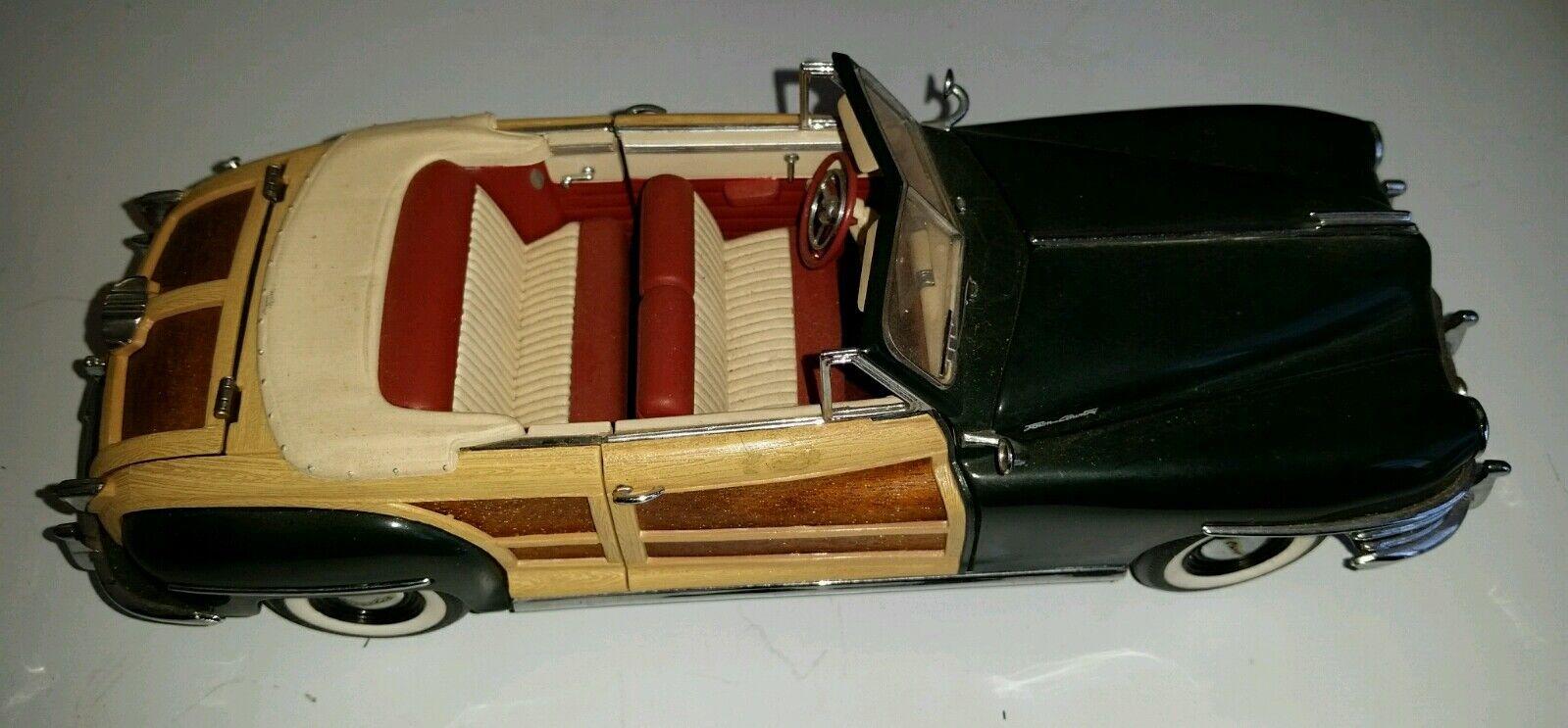 Franklin mint 1948 in stadt und land chrysler cabriolet ein diecast modell