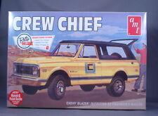 Crew Chief Chevy Blazer 4X4 Stock or Off-Road Version 1:25 AMT Retro Deluxe Kit