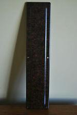 Bakelite (Brown) Door Finger Plate - New Old Stock   #501