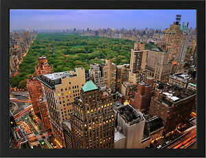 CENTRAL-PARK-NEW-YORK-NEW-A3-FRAMED-PHOTOGRAPHIC-PRINT-POSTER