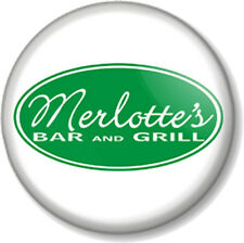 """Merlotte's Bar and Grill Logo True Blood 1"""" Pin Button Badge Vampires TV Show"""