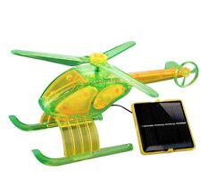 Solar Wholesale 5009 Solar Powered Helicopter, Birthday gift and fun activity