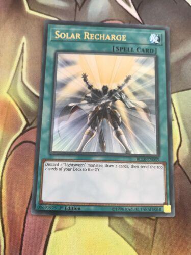 Details about  /BLLR-EN045 YuGiOh SOLAR RECHARGE Ultra Rare