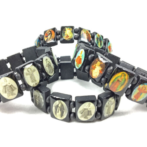 Armband Echt Holz Marien Madonna Armbänder Christlich Religiös