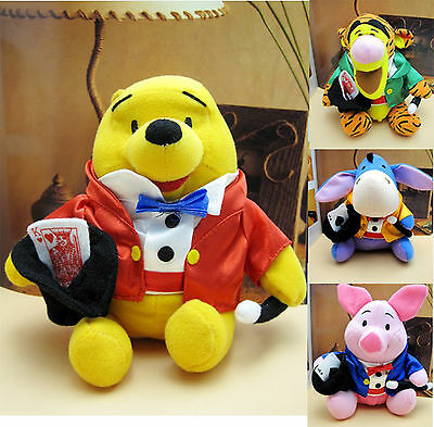 ~NEW~ WINNIE THE POOH AND FRIENDS MAGICIAN PLUSH TOY