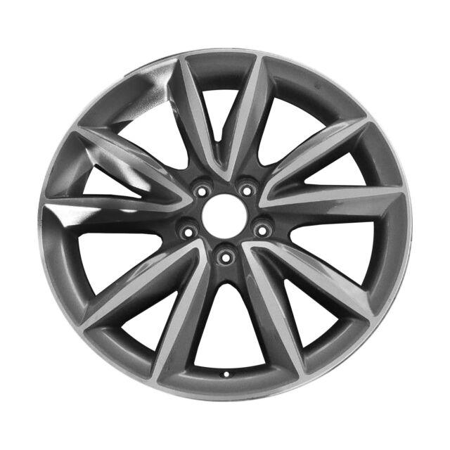 71866 OEM Reconditioned 19x8 Aluminum Wheel Fits 2019