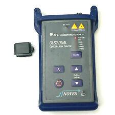 Afl Noyes Ols2 Dual Sm Dual Fiber Optic Laser Light Source With Waveid Ls2d Ols 2