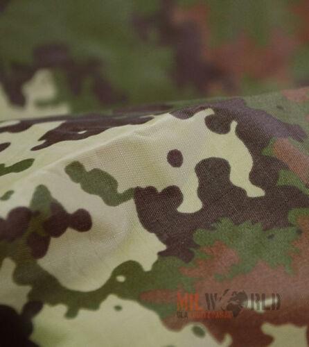 Mil-Tec US Waterproof Ripstop Hooded Poncho Festival Military Vegetato Woodland