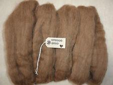 100g-needle felting/wool/felting wool tops/roving/spining/weaving(manx loaghtan)