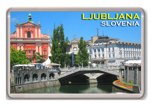 Ljubljana Slovenia Aimant Souvenir Aimant Frigo