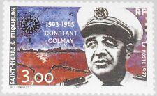 ST. PIERRE MIQUELON SPM 1997 721 634 Constant Colmay Military Commander MNH