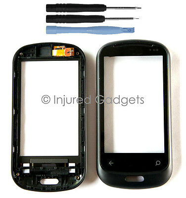 Glass Touch Screen Digitizer Frame Replacement Lens for LG C900 AT&T