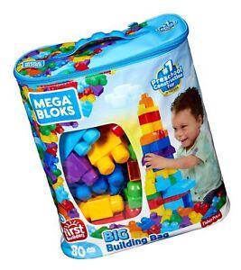 Mega Bloks 80-Piece Big Building Bag Classic Classic 80 pc