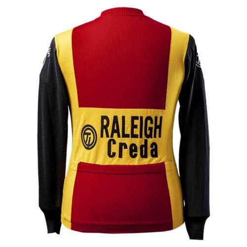 Magliamo/'s Raleigh Creda Team 1980 Long Sleeve Jersey