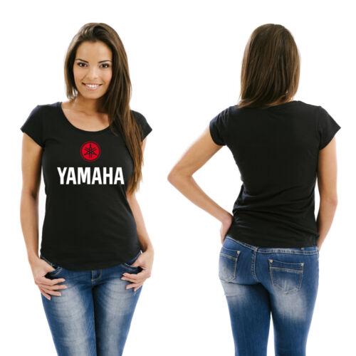T-shirt Femmes Yamaha rouge-blanc-Taille XS-XL KULTIG!! VIRAGO XT SR TDM YZF