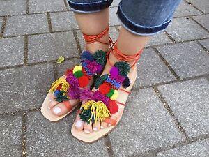 589 Pom About 383940us7 Details Ref1682101 Zara Sandals Leather DWE2IH9