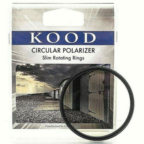 Reino Unido stock Polarizador de Filtro Polarizador Circular 39mm KOOD CPL Pro estructura Delgado