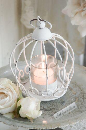 Windlicht Glaswindlicht Kerzenleuchter Kerzenglas Hängewindlicht Shabby Chic