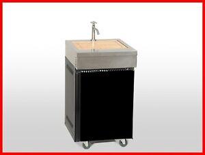 Coobinox-SPULE-Gasgrill-Griller-Grillwagen-Grillstation-Grill-Wasserhahn-SpueleSV