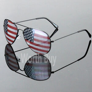 945893ad7a2 Image is loading New-Patriotic-Sunglasses-American-Flag-USA-Lens-Star-