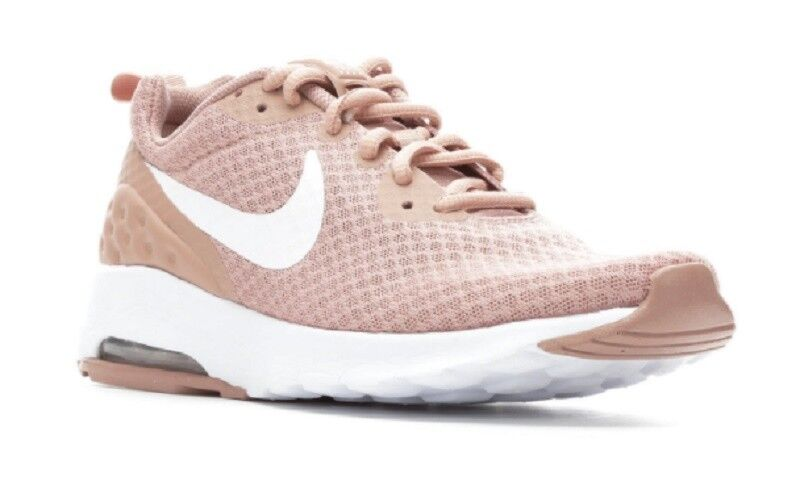 75ddac0efde2d Women s Nike Air Max Motion Low Low Low Sneakers Pink White SSC20-122 482aef