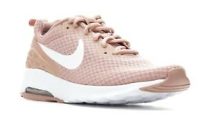 Women's Nike Air Max Motion Low Sneakers Pink/White SSC20-122