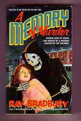 A MEMORY OF MURDER (Ray Bradbury/1st US/PBO/mysteries from the pulps)