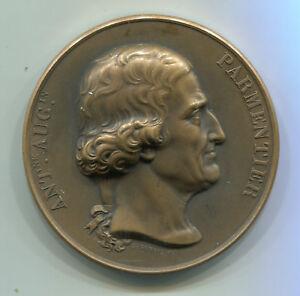 Diszipliniert Alte Bronze Medaille Aus Frankreich: Ant.ne.aug.in Parmentier Vor 1900 Feines Handwerk