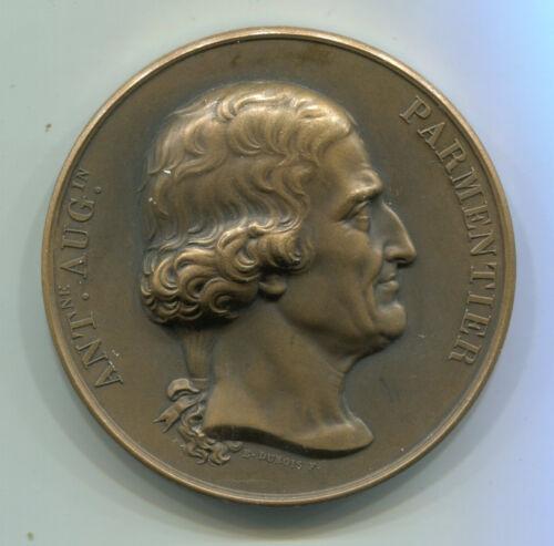 Alte Bronze Medaille aus Frankreich: ANT.NE.AUG.IN PARMENTIER vor 1900