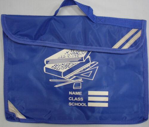 Childrens Kids Boys Girls School Uniform Book bag BookBag Shoulder Strap Holder