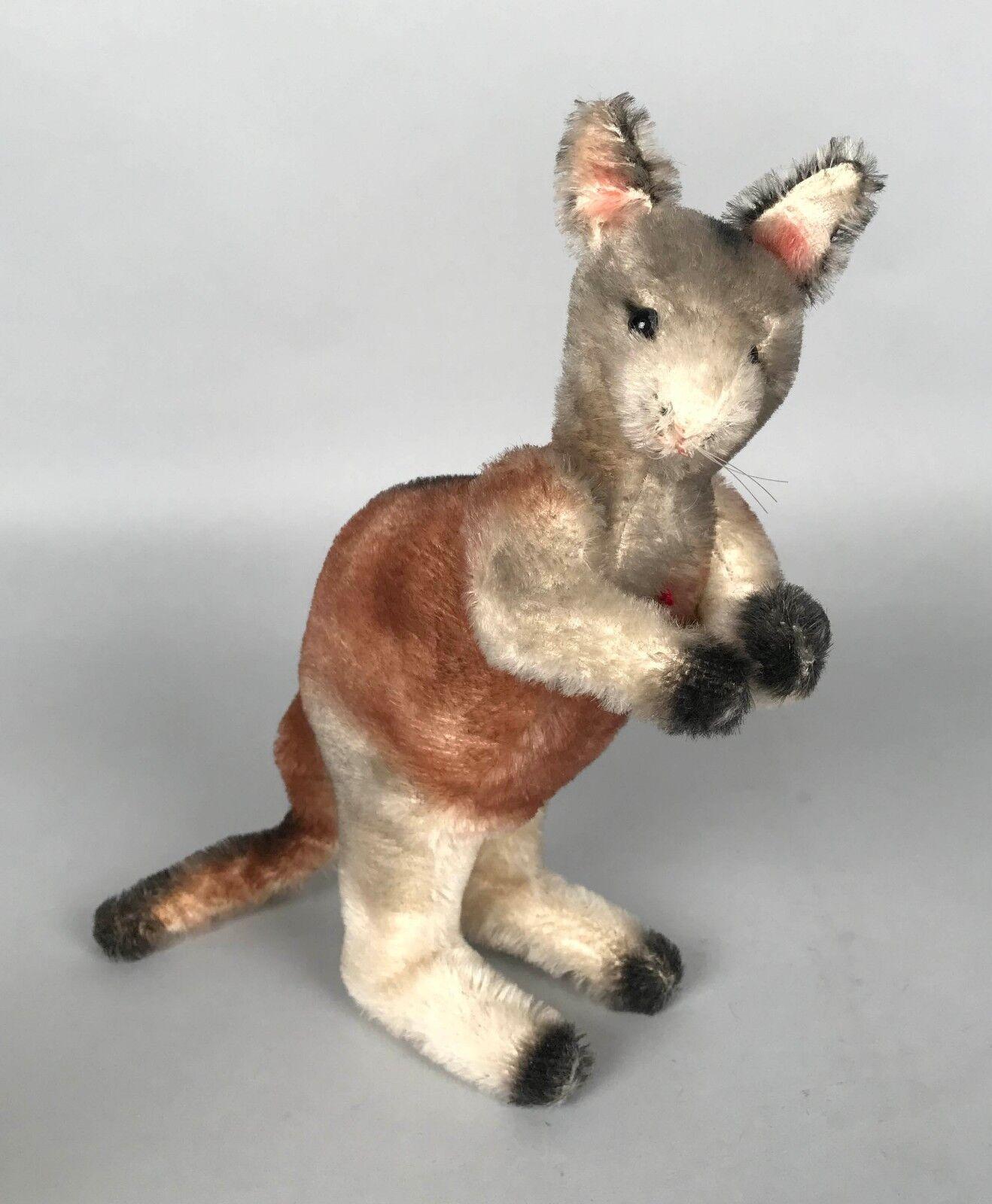 Vintage Steiff Kangaroo - 28 cm 11  Tall 1959-1967 - No tags