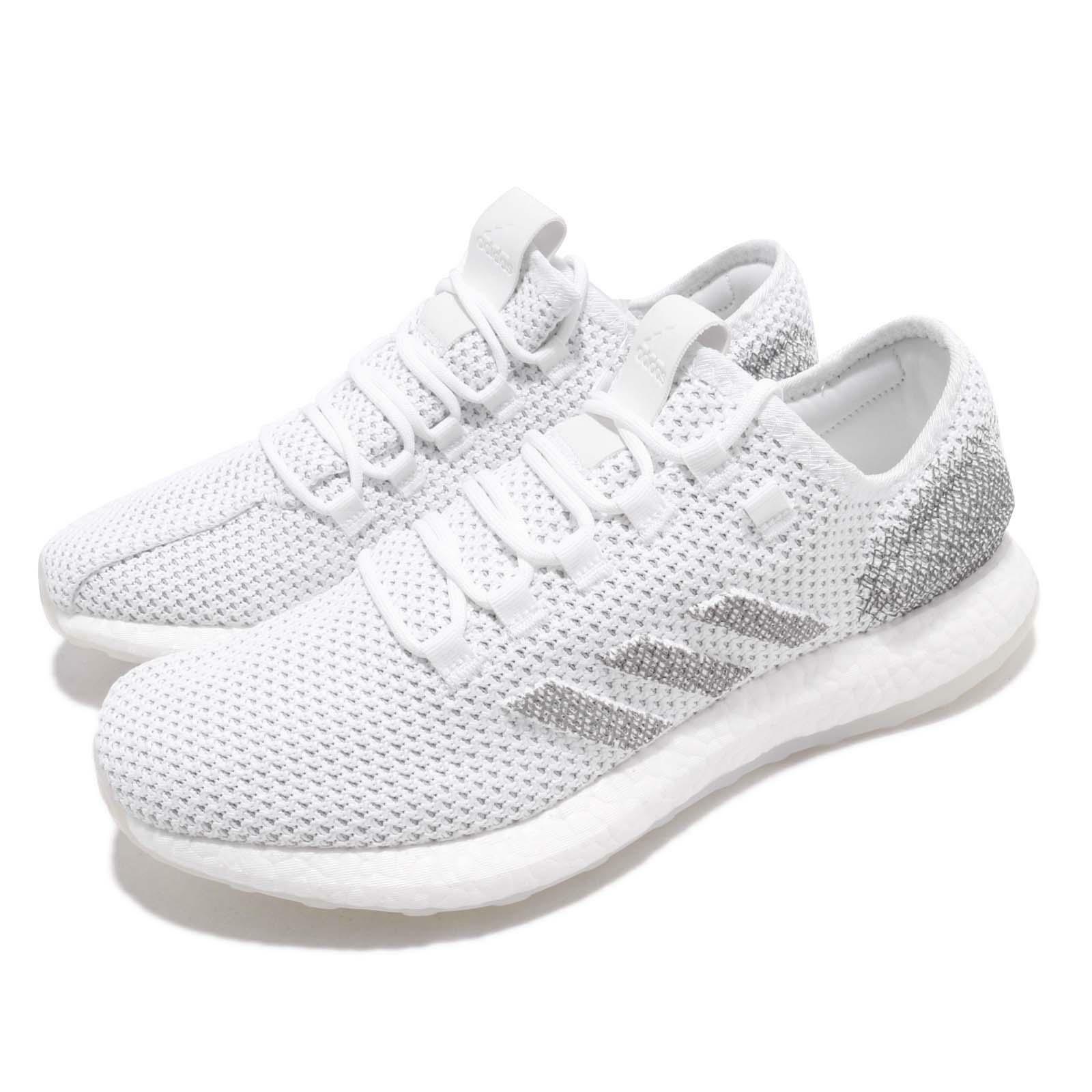 Adidas PureBooST Clima CC Weiß grau Sie daSie Laufen schuhe Turnschuhe G27832