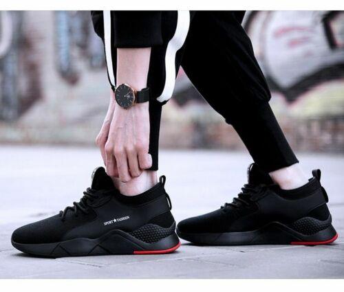 Tenis Zapatos Calzado Con Punta de Acero Zapato de Seguridad Para Mujer Hombre
