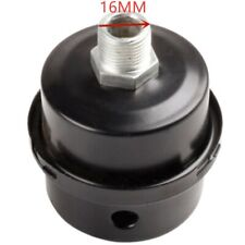 16mm 38 Thread Metal Air Compressor Intake Filter Noise Muffler Silencer Kits