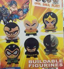 DC Comics Capsule Buildable Gatchaman Vending JLA Figurines Series 2 SET of 6