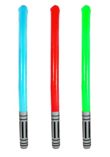 5//10//15//20 Inflatable Light Stick Sabre Toy Star Wars 90cm Assorted Colours