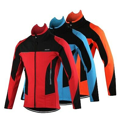 Windproof Sports Coat MTB Bike Cycling Jersey Thermal Cycling Jacket