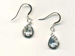 Sterling Silver amp Topaz Drop Earrings - Minehead, United Kingdom - Sterling Silver amp Topaz Drop Earrings - Minehead, United Kingdom