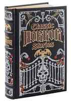 Sealed Leatherbound Classic Horror Stories(barnes & Noble Collectibles)