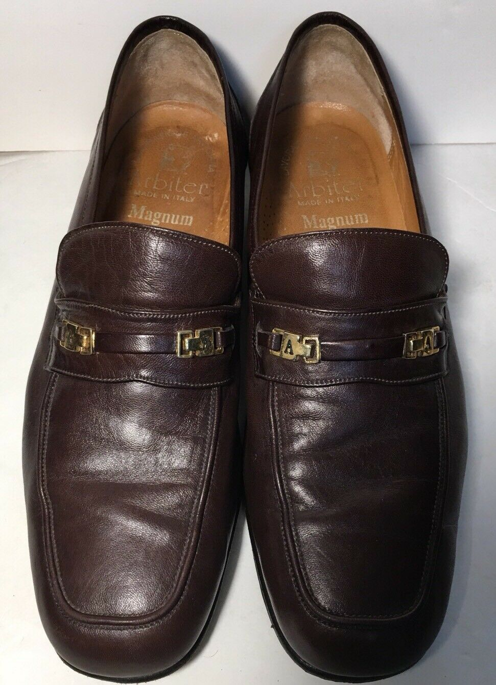 Authentic Arbiter braun Soft Soft Soft Leather Hand Crafted SZ 8.5  Men's schuhe 04bab5