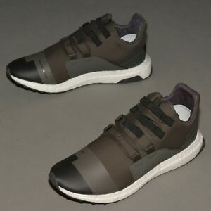 Details about NEW ADIDAS Y 3 YOHJI YAMAMOTO KOZOKO LOW CG3161 BLACK OLIVE SNEAKERS SHOES US11
