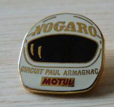 BEAU PIN'S RALLYE COURSE CASQUE CIRCUIT PAUL ARMAGNAC NOGARO ARTHUS BERTRAND