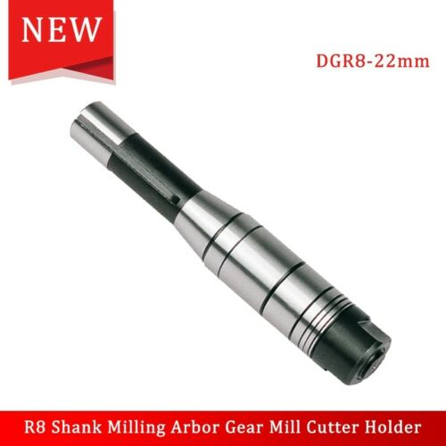 1pc 22mm R8 Shank Milling Arbor Gear Mill Cutter Holder