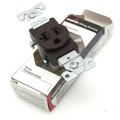 5-20R NIB 20 amp cord mount AC receptacle lot of 10 125V Hubbell 5369VBK