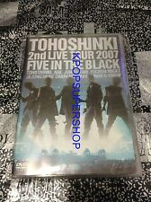 Dong Bang Shin Ki 2nd Live Tour Five In the Black First 2 DVD TVXQ Tohoshinki
