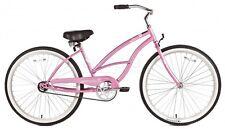 """Micargi 26"""" Pantera Women beach cruiser bicycle bike Pink"""