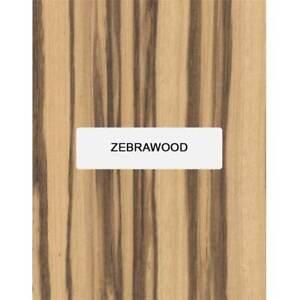 """Bois de Zèbre Guitare Archtop Tailpiece Blank, 8 """" x 3.4 """" X 5/8 """""""