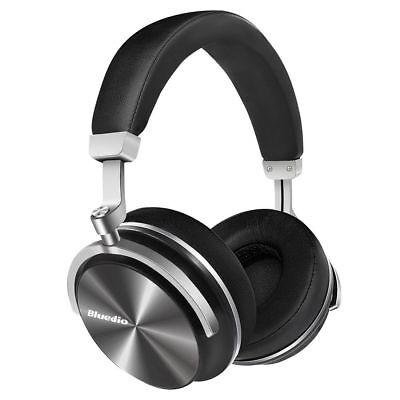Bluedio T4 (Turbine) Casque Bluetooth Sans fil Pivotant avec Microphone (Noir)